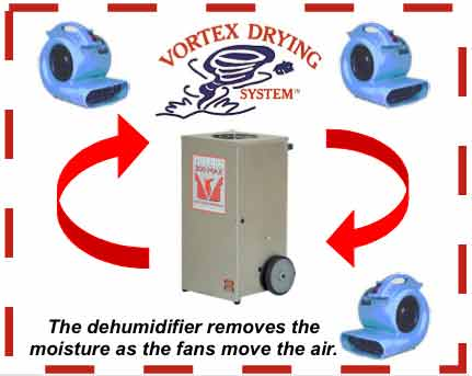 Vortex Drying